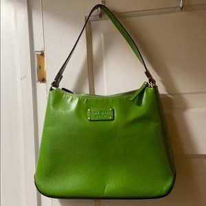 Kate Spade Kelly green purse